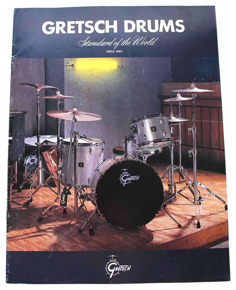 Gretsch-Drumkatalog-1983-rare
