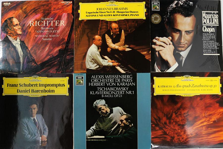 6 Belles Classique Lp Dgg U A Beethoven Brahms Chopin